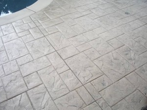 STAMPED OR STENCILED CONCRETE