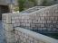 WallStain Example of Exterior Concrete Garden Wall