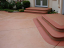 Endura Solid Colour Stain for Concrete Patio and Steps