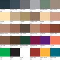 concrete stain colour chart solid colours